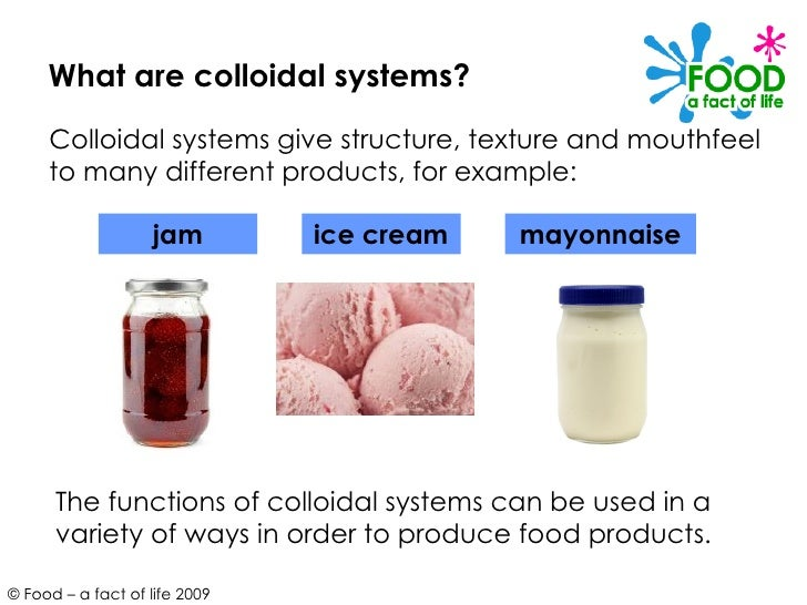 what is an example of a colloid