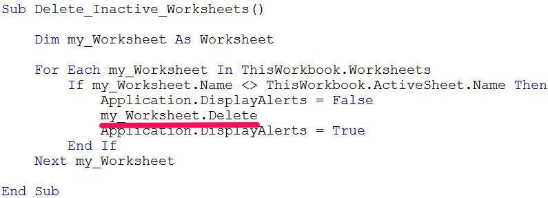 visual basic if statement example