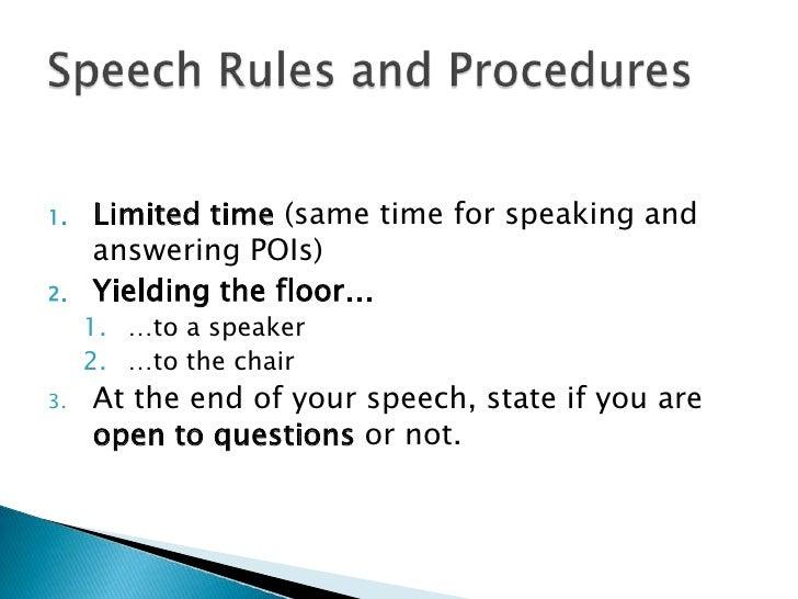 first speaker debate speech example