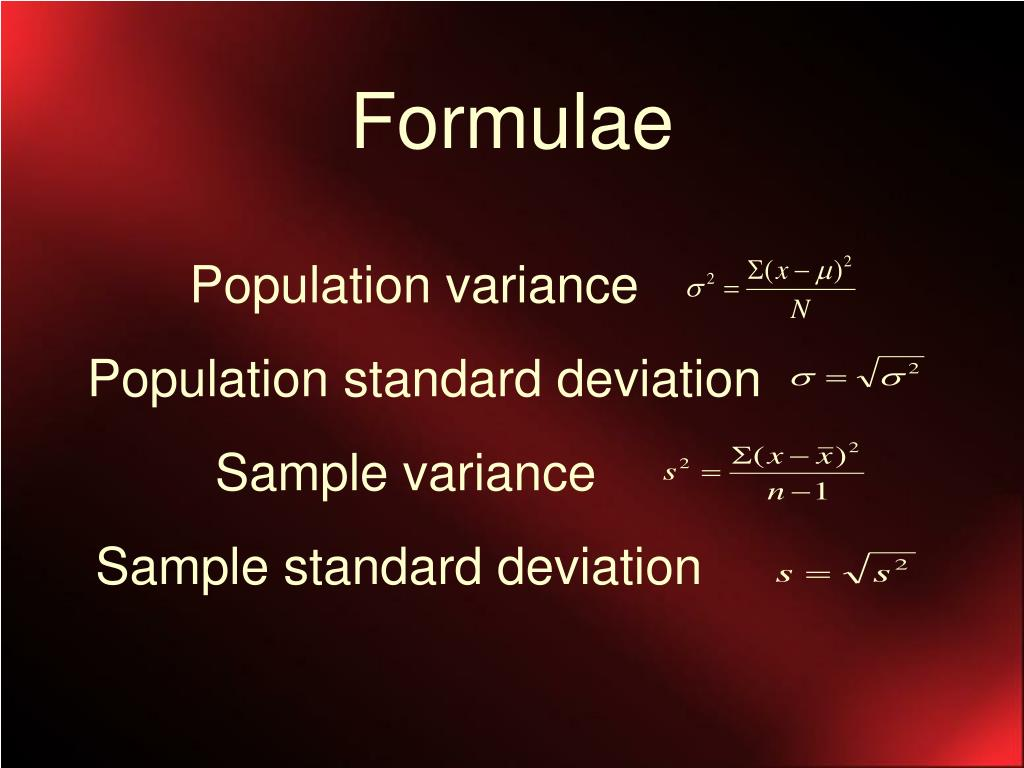 measures of dispersion example problems