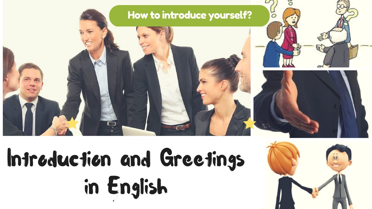how to introduce myself in english example
