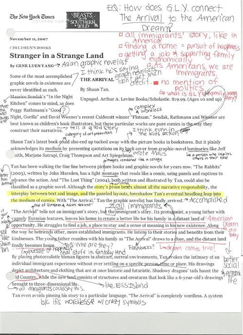 example of close reading thesis