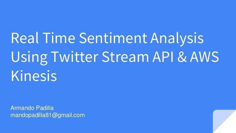 twitter streaming api c example