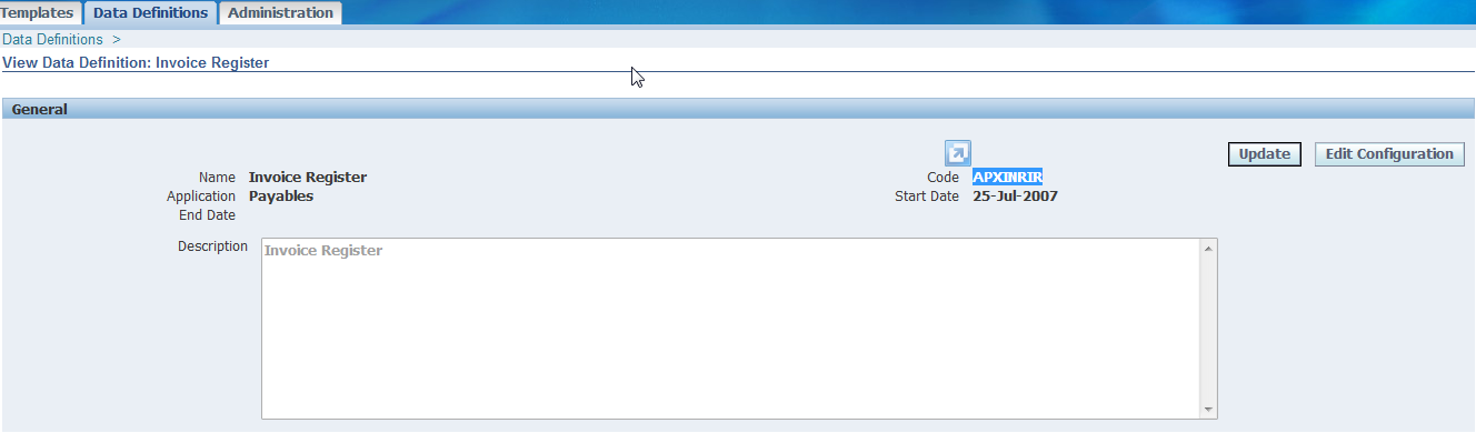 xml table example in oracle