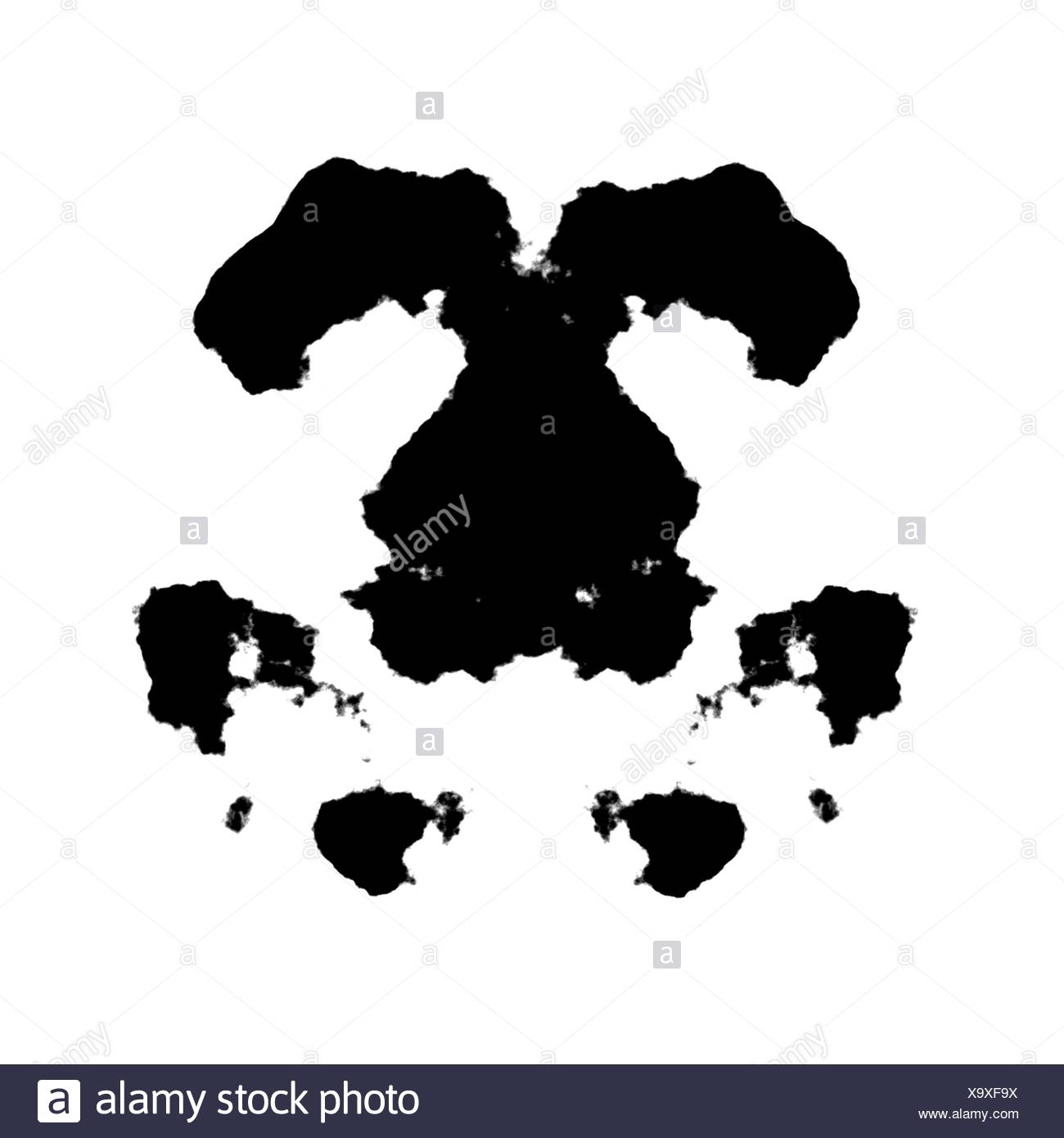 the well-known rorschach inkblot test is an example of a