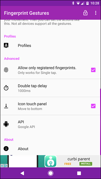 android fingerprint scanner api example