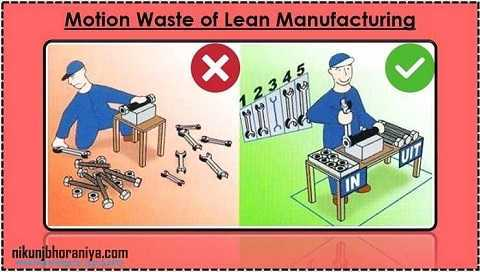 example of lean manufacturing at work