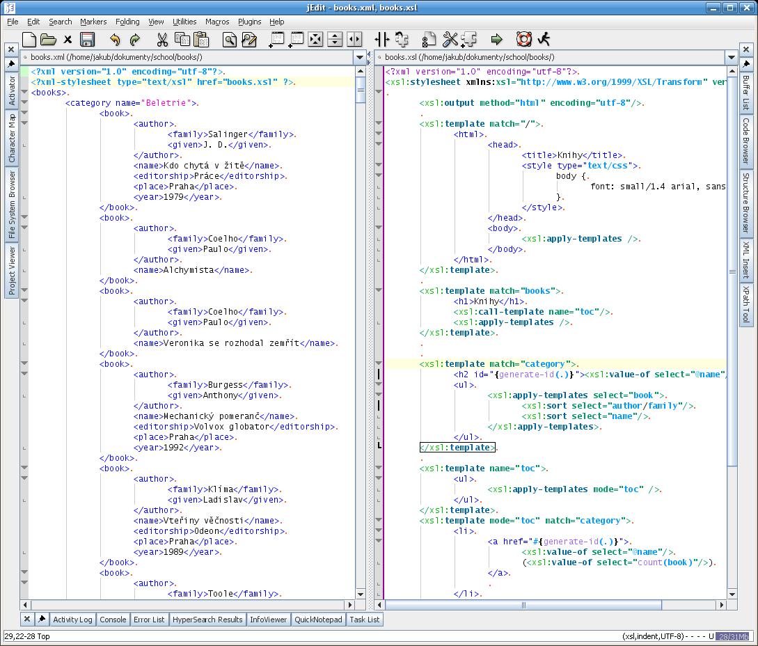 xslt transform xml to xml example