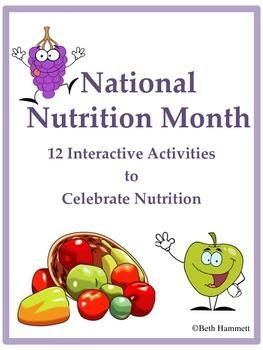 example activities for nutrition month celebration