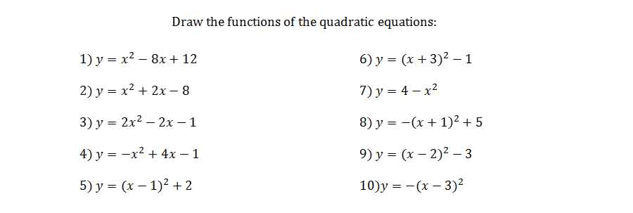 completing the square example problems
