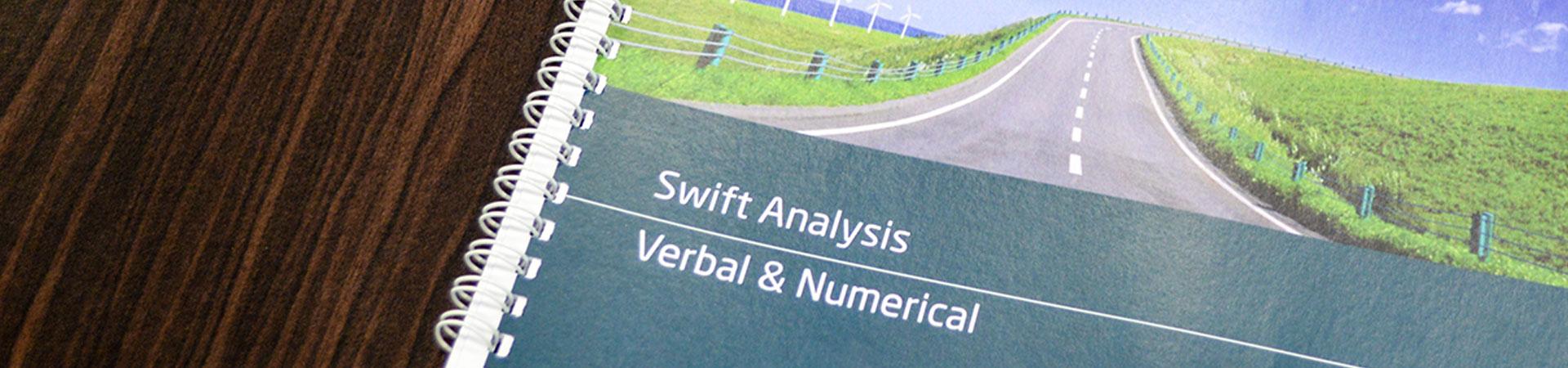 swift analysis aptitude test example