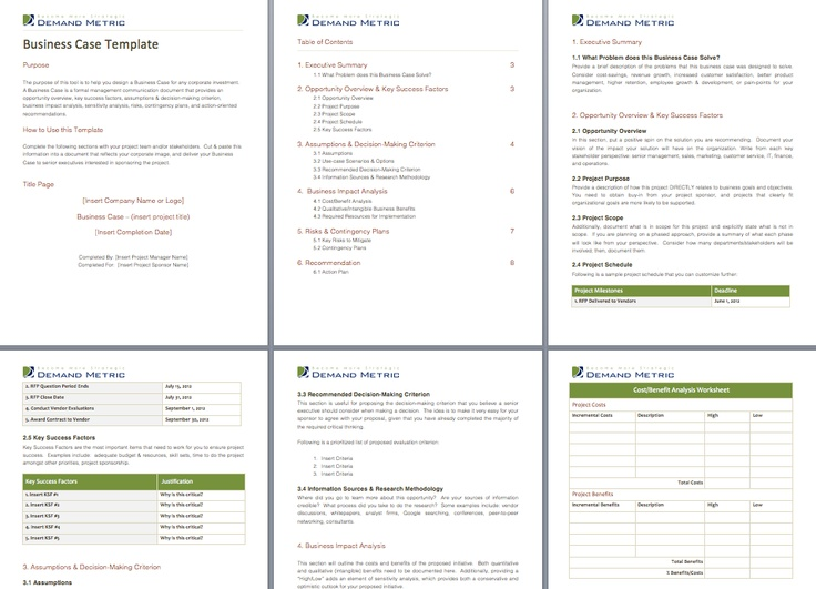 use case document template example
