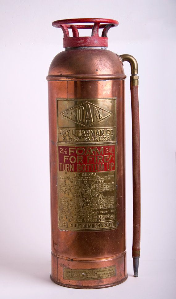 a fire extinguisher is an example of a