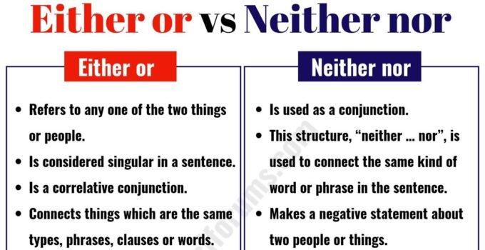 neither nor usage example sentences