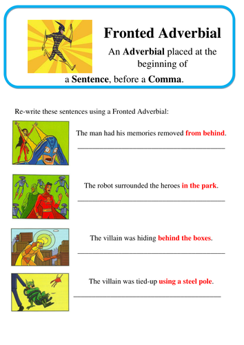 example of phrases for grade 3