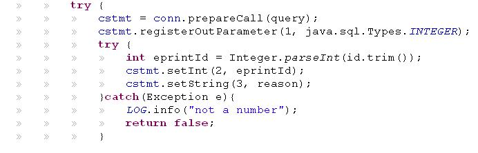 rsa algorithm example with solution in java
