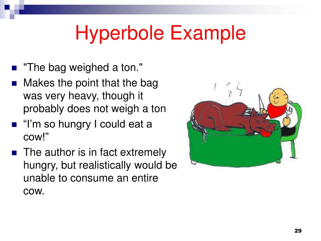meaning and example of hyperbole