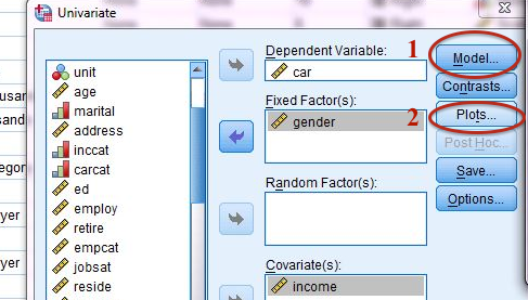 multiple regression analysis example spss