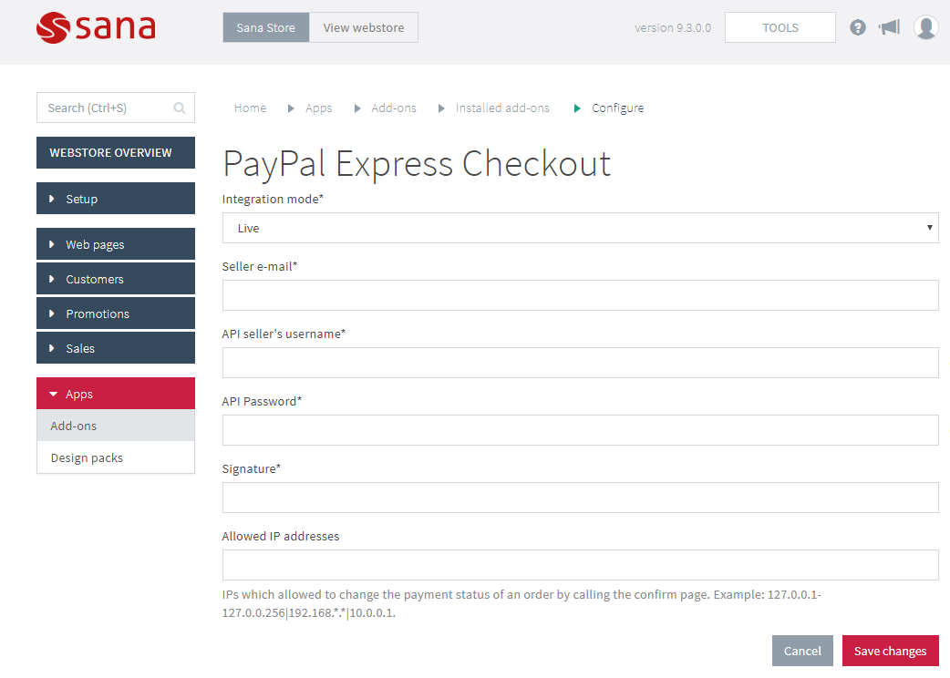 c paypal express checkout example