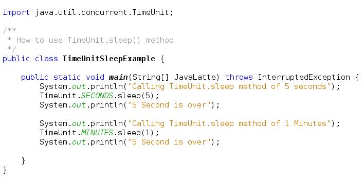 enum class in java example