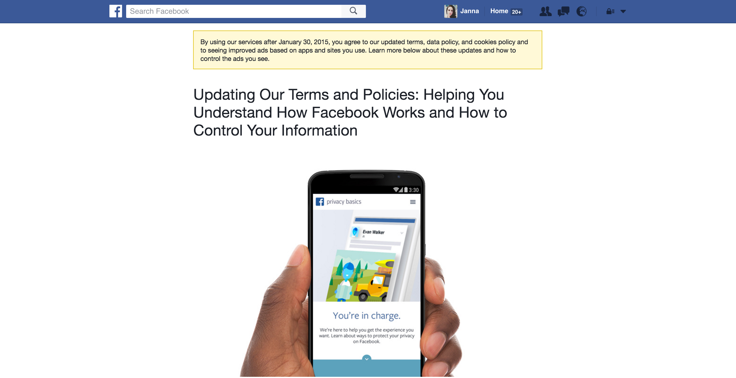 example simple social media policy for small business 2016