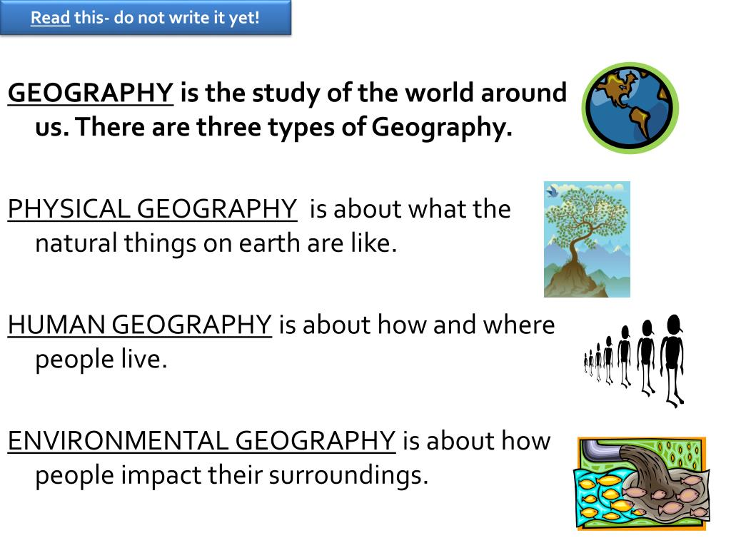example of a state human geography