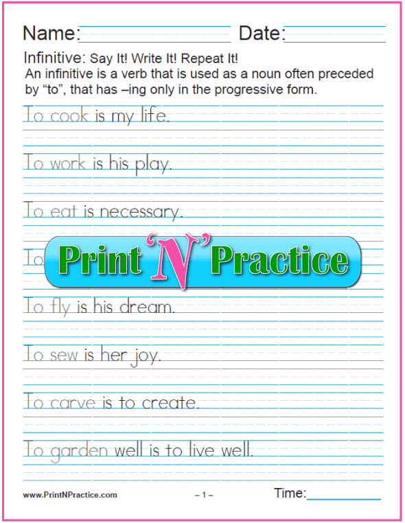 example of gerund phrase as subject