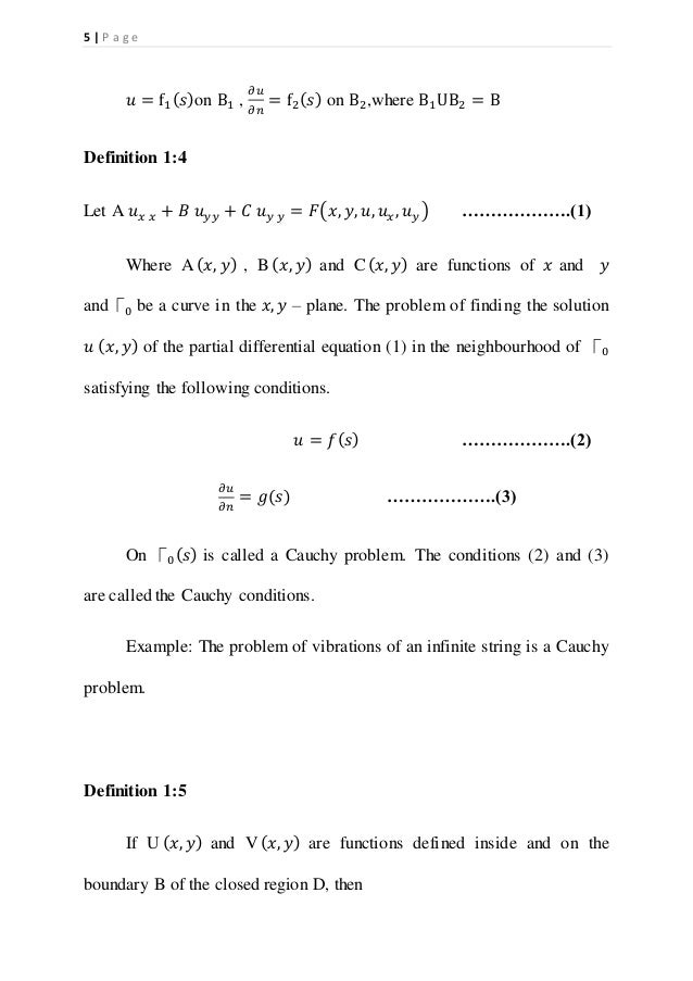 family of curves differential equations example problems