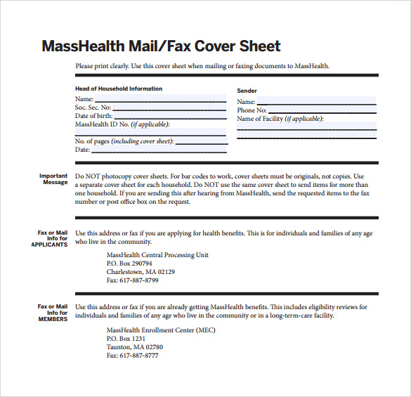 how to write a fax cover sheet example