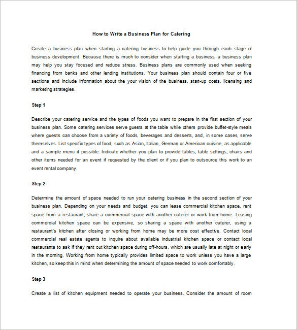 how to write a research plan example