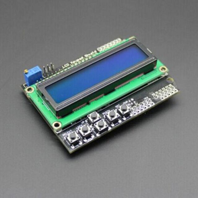 lcd keypad shield arduino example