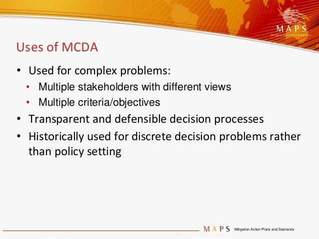 multi criteria decision analysis example
