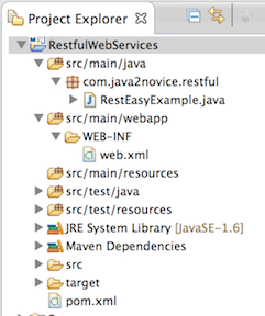 restful web services using json example