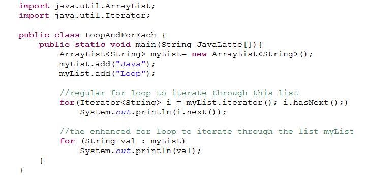 simple example get and set method java