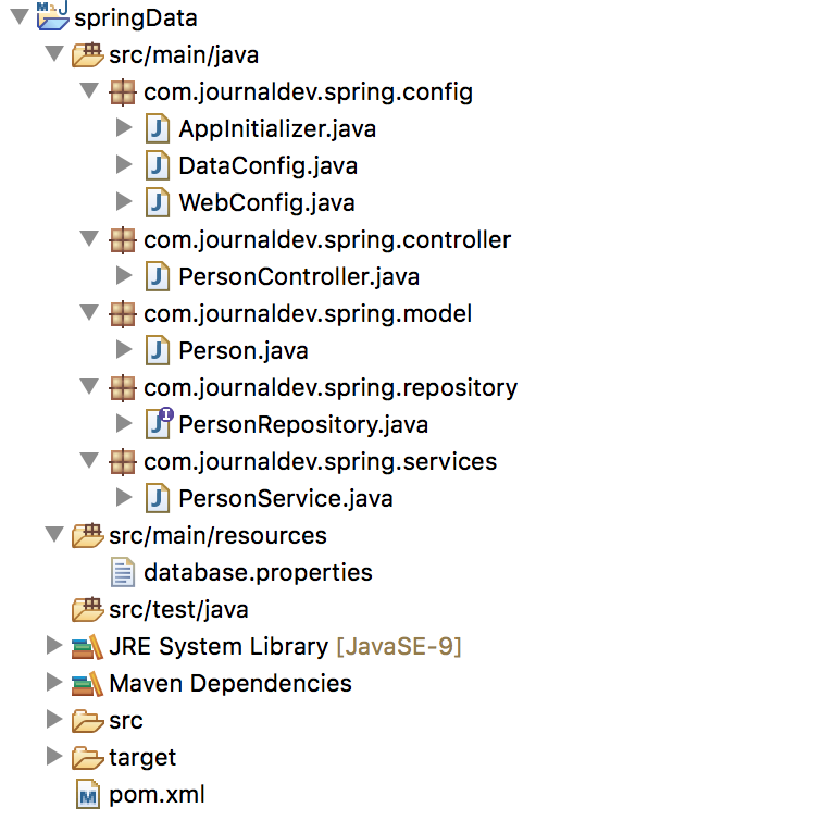 sping boot jpa rest api with test cases sample example