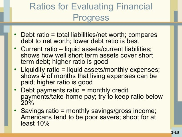 total liabilities to net worth ratio example