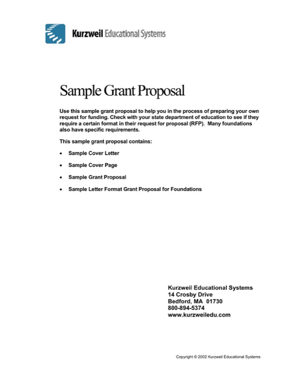 transmittal letter example for proposal
